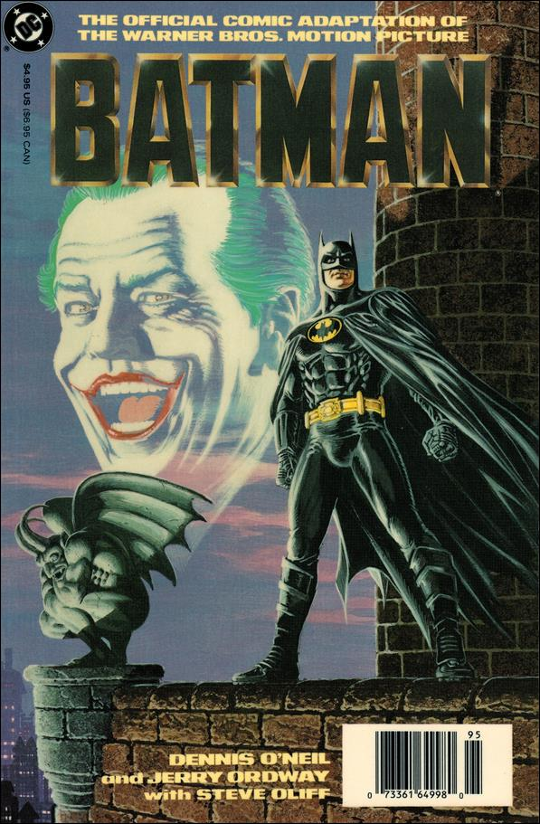 Batman: The Official Comic Adaptation of the Warner Bros. Motion Picture 1-A by DC