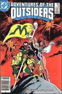 Adventures of the Outsiders 33-A by DC