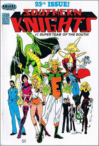Southern Knights (1985) 25-A by Comics Interview
