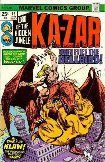Ka-Zar (1974) 15-A by Marvel