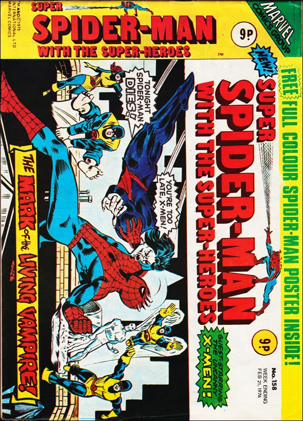 Spider-Man: Comics Weekly (UK) 158-A by Marvel UK