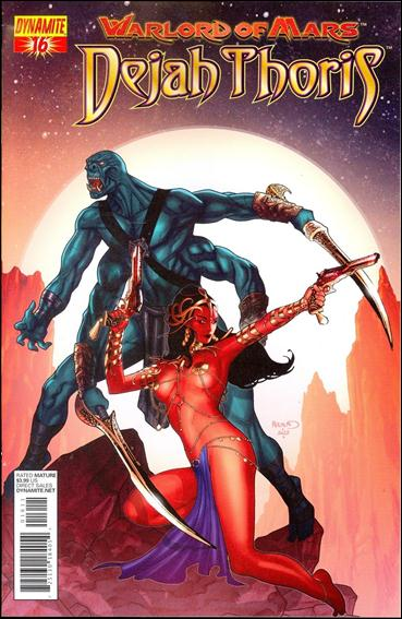 Warlord of Mars: Dejah Thoris 16-B by Dynamite Entertainment