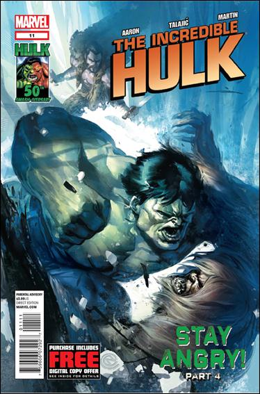 Incredible Hulk (2011)  11-A by Marvel