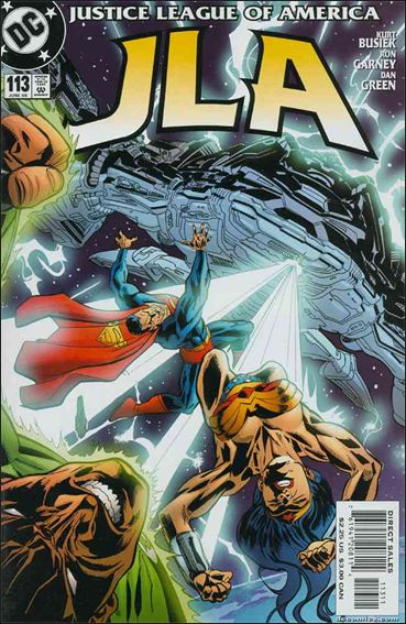 JLA 113-A by DC
