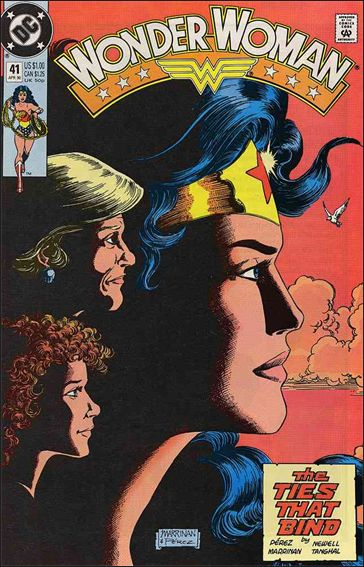 Wonder Woman (1987) 41-A by DC