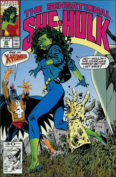 Sensational She-Hulk 35-A by Marvel