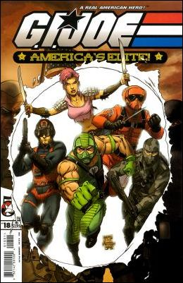 G.I. Joe: America's Elite 18-A by Devil's Due