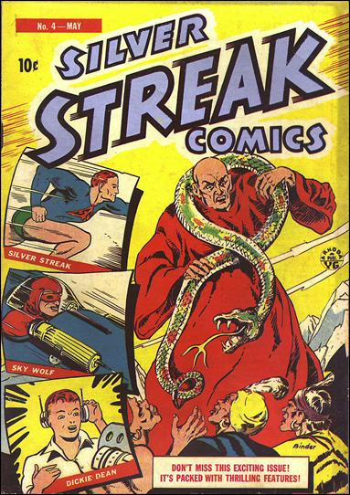 Silver Streak Comics (1939) 4-A by Lev Gleason Productions