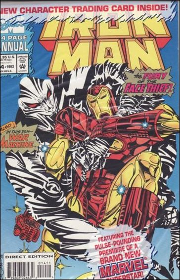 Iron Man Annual 14-B by Marvel