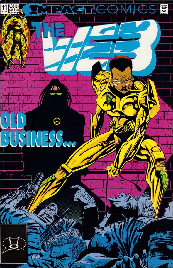 Web (1991) 11-A by Impact Comics
