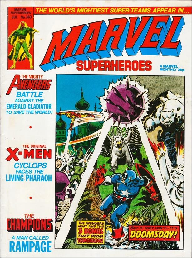 Marvel Superheroes (UK) 363-A by Marvel UK