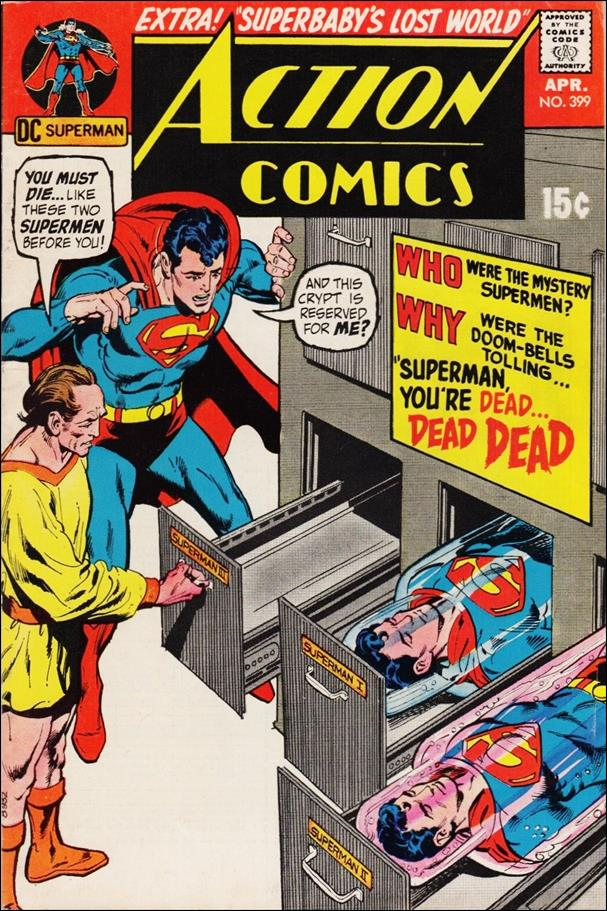 Action Comics (1938) 399-A by DC