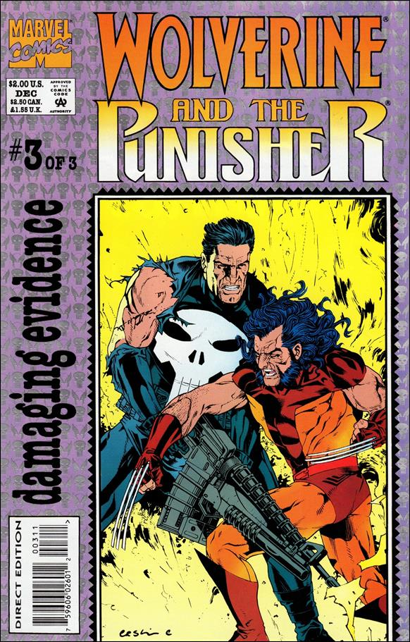 Wolverine and The Punisher: Damaging Evidence 3-A by Marvel