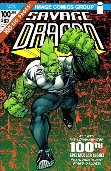 Savage Dragon (1993) 100-A by Image
