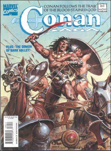 Conan Saga 80-A by Marvel