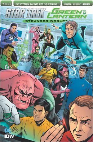 Star Trek/Green Lantern (2016) 4-B