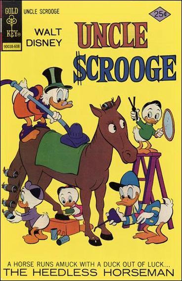 Walt Disney's Uncle Scrooge 131-A by Gemstone
