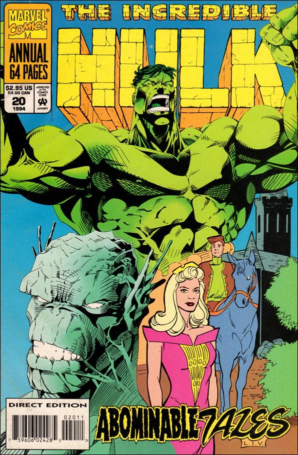 Incredible Hulk Annual  20-A by Marvel