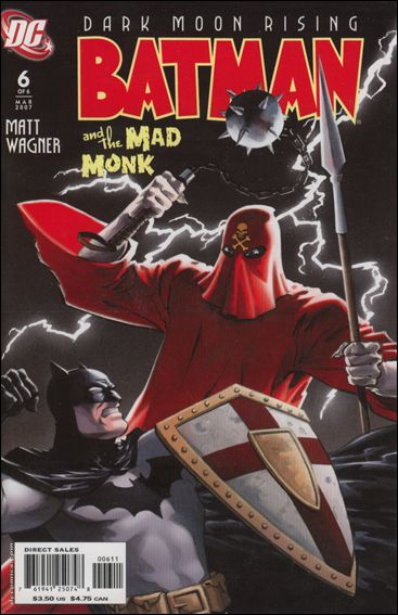 Batman and the Mad Monk 6-A by DC