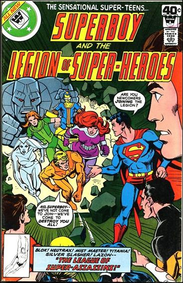 Superboy and the Legion of Super-Heroes 253-B by DC