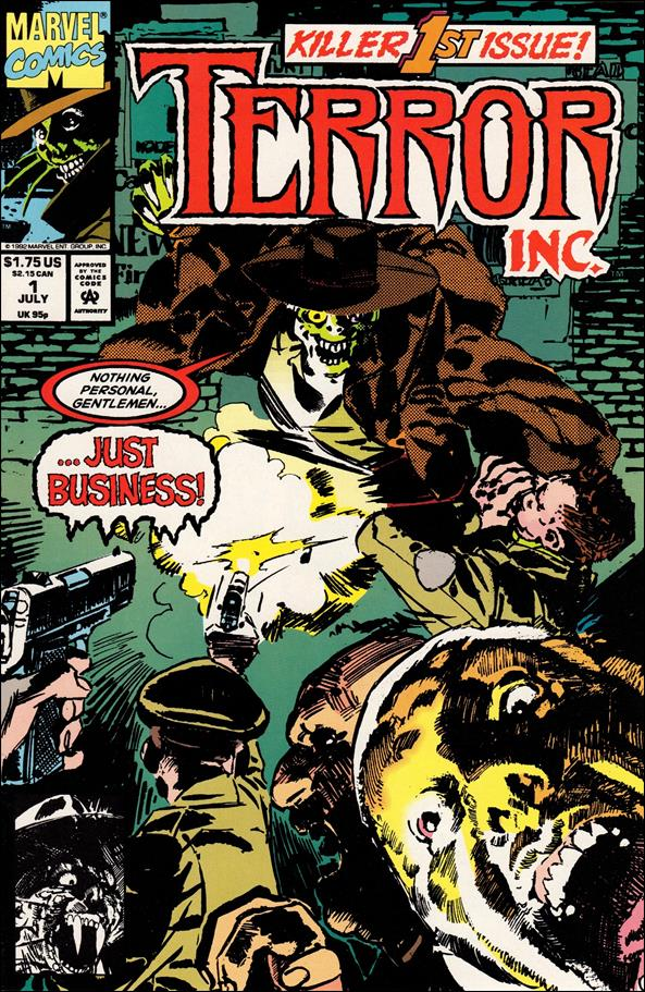 Terror, Inc. (1992) 1-A by Marvel