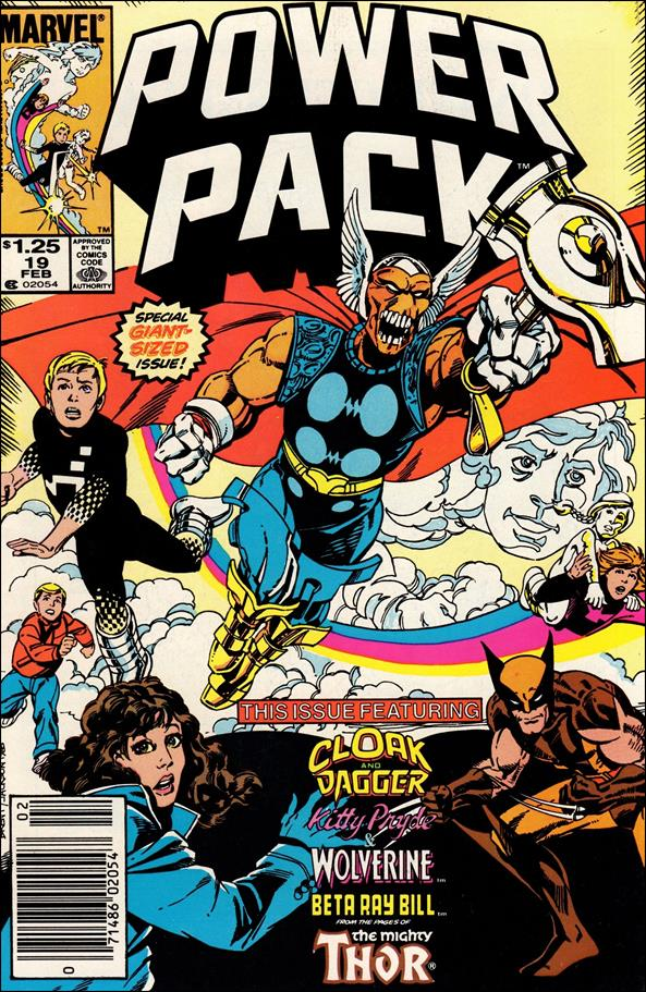 Power Pack (1984) 19-A by Marvel