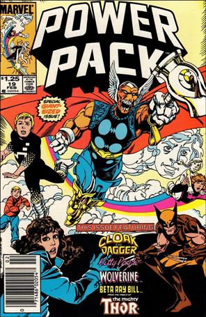 Power Pack (1984) 19-A