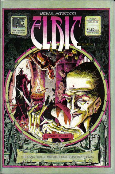 Elric of Melnibone 2-A by Pacific Comics