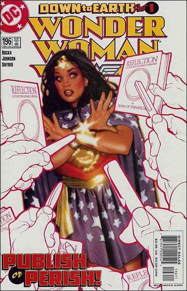 Wonder Woman (1987) 196-A by DC