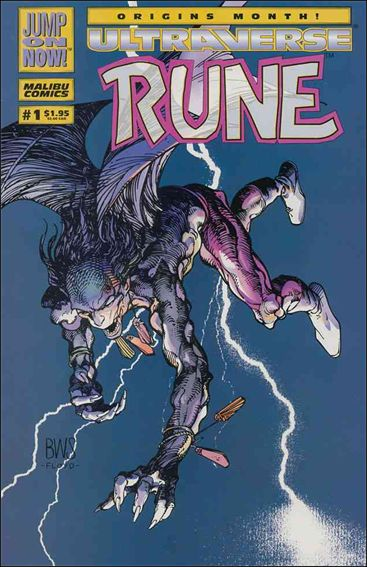 Rune (1994) 1-A by Malibu