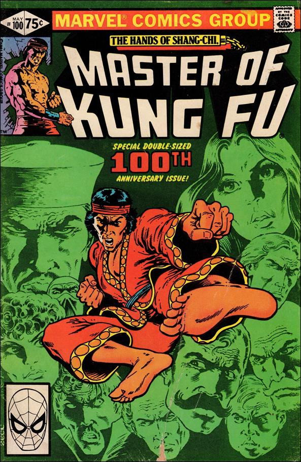 Master of Kung Fu 100-A by Marvel