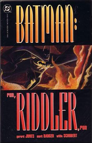 Batman: Run, Riddler, Run 1-A