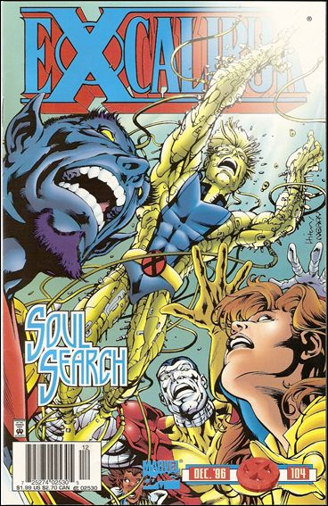Excalibur (1988) 104-B by Marvel