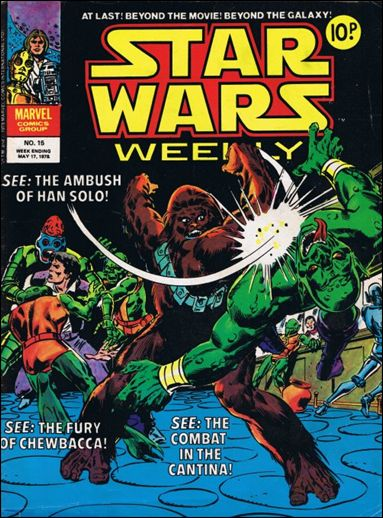 Star Wars Weekly (UK) 15-A by Marvel UK