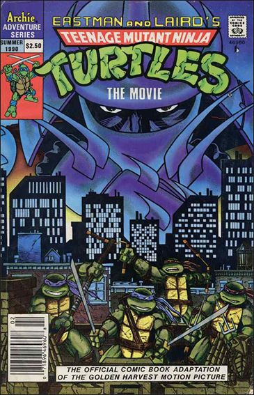 Teenage Mutant Ninja Turtles: The Movie 1-A by Archie