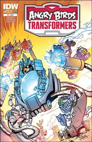 Angry Birds Transformers 3-A