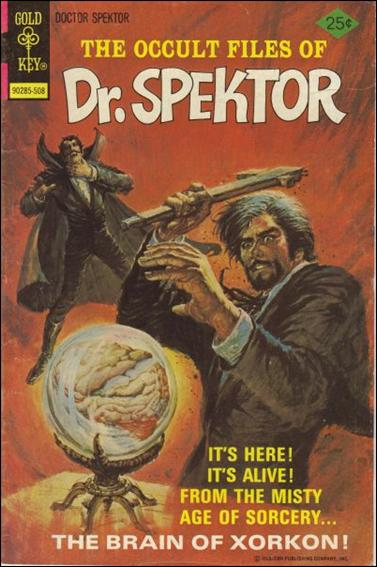 Occult Files of Dr. Spektor 15-A by Gold Key