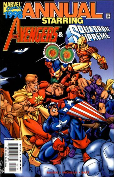 Avengers Annual 1998-A by Marvel