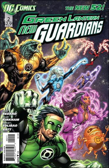 Green Lantern: New Guardians  2-A by DC