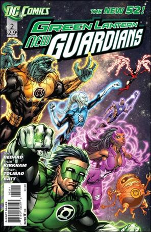 Green Lantern: New Guardians  2-A