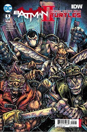 Batman/Teenage Mutant Ninja Turtles II 5-B