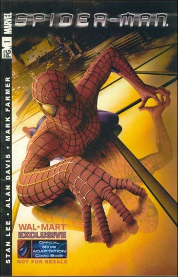 Spider-Man: The Official Movie Adaptation 1-B by Marvel