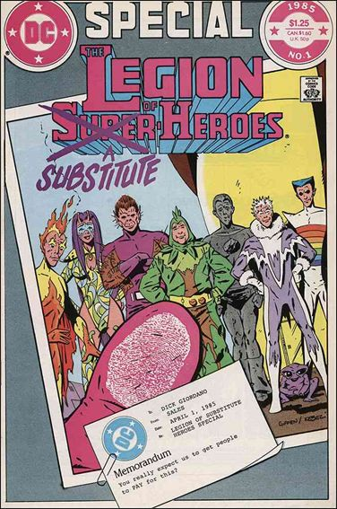 Legion of Substitute Heroes Special 1-A by DC