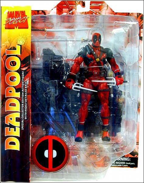 Marvel Select Deadpool Marvel Select by Diamond Select