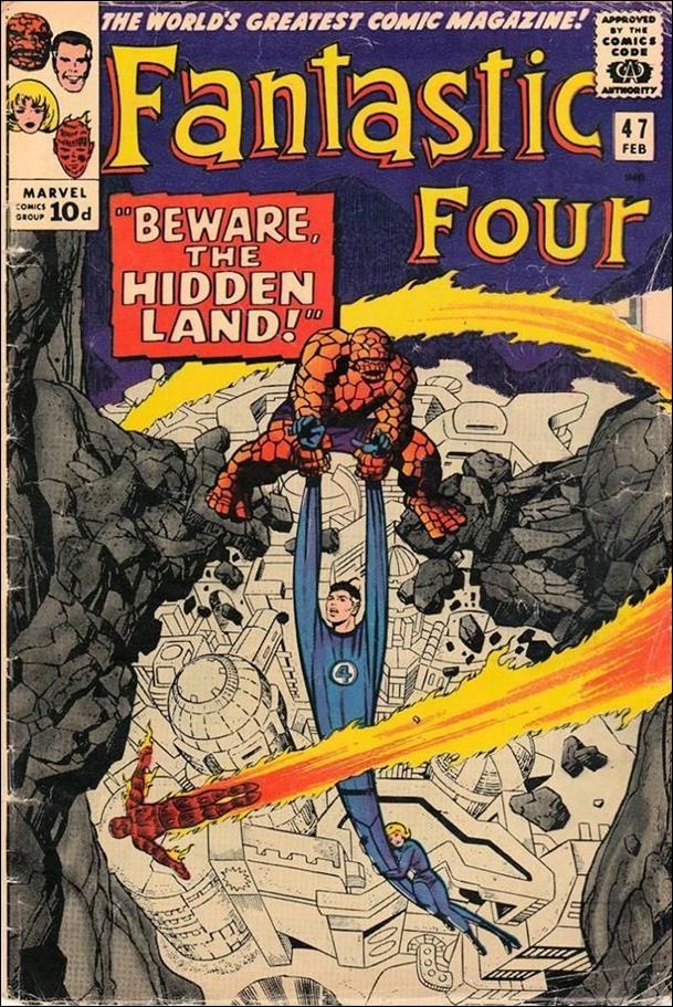 Fantastic Four (1961) 47-B by Marvel