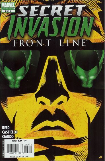 Secret Invasion: Front Line 2-A by Marvel