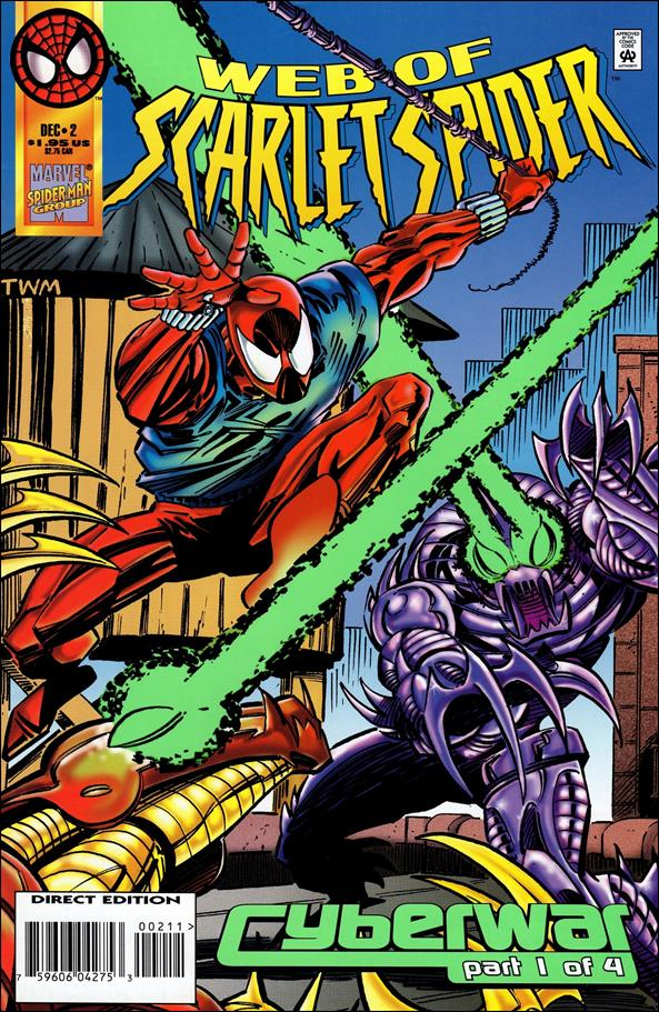 Web of Scarlet Spider 2-A by Marvel