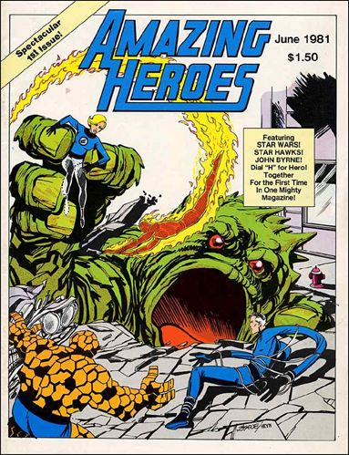 Amazing Heroes 1-A by Fantagraphics