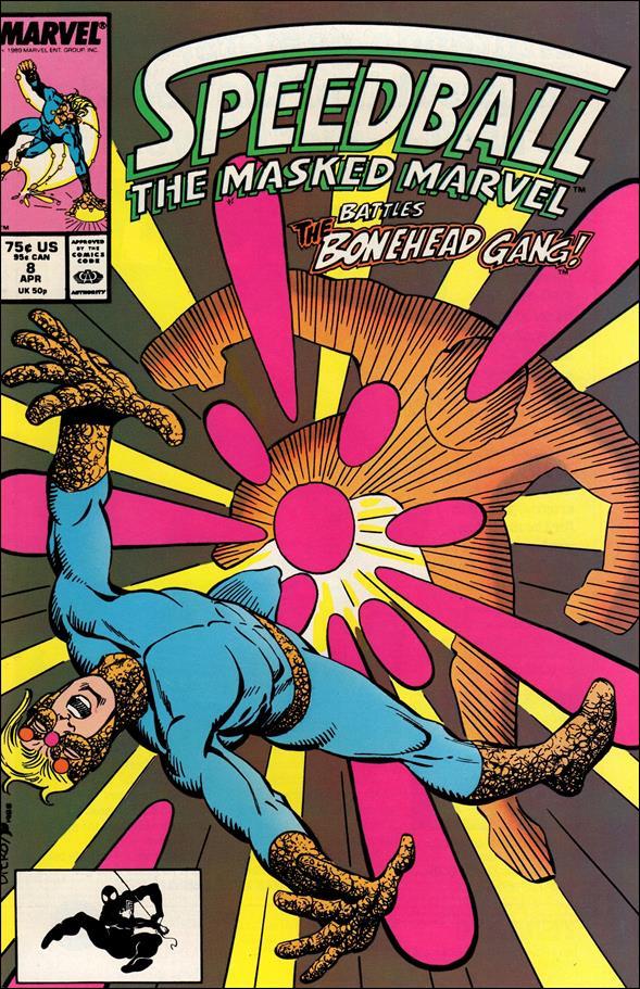 Speedball 8-A by Marvel