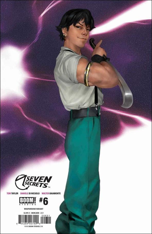 Seven Secrets 6-E by Boom! Studios